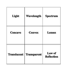 Common Core Standard Science Vocabulary Cards & Definitions