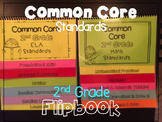 Common Core Standards Guide List 2nd Grade Flipbooks