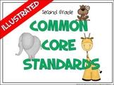 Common Core Standards Posters - 2nd Grade - ELA & MATH (HA