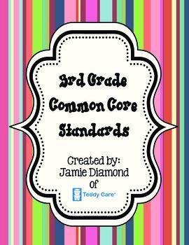 Common Core Standards- 3rd Grade