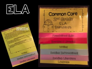 Common Core Standards Guide 3rd Grade Flipbooks