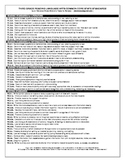 Common Core Standards (3rd Grade RLA) Quick Reference Sheets
