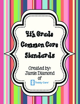 Common Core Standards- 4th Grade