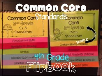 Common Core Standards Guide 4th Grade Flipbooks