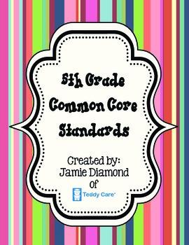 Common Core Standards- 5th Grade