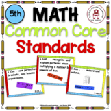 Common Core Standards - 5th Grade Math