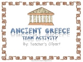 Common Core Standards Aligned Ancient Greece Activity {Groups and individual}