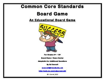 Common Core Standards Board Game