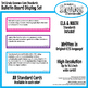 Common Core Standards Bulletin Board Posters or Wall Display Set for Third Grade