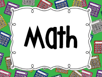 Common Core Standards Cards Fifth Grade Math