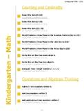 Common Core Standards Checklist