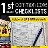 Common Core Standards Checklist-First Grade
