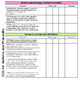 Common Core Standards Checklist for Grade 6
