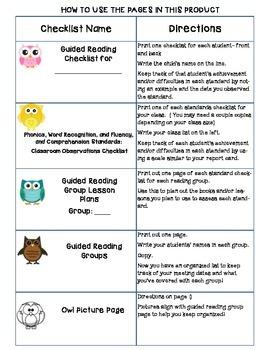 Common Core Standards Checklists for Fourth Grade