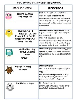Common Core Standards Checklists for Second Grade
