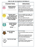 Common Core Standards Checklists for Second Grade