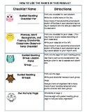 Common Core Standards Checklists for Third Grade