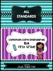 Common Core Standards: ELA Assessments, Checklists, & Posters Grade 1 Combo Pack