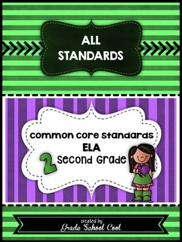 Common Core Standards: ELA Assessments, Checklists, & Posters Grade 2 Combo Pack