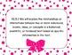 Common Core Standards ELA Grade 5 Hot Pink Polka Dot