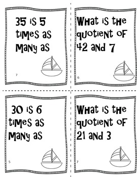 Common Core Standards End of Year Math Game and Review