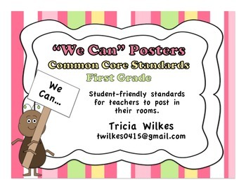 Common Core Standards First Grade