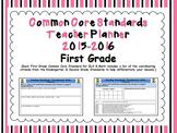 Common Core Standards First Grade Teacher Planner 2015-2016