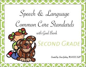 Common Core Standards Goal Bank {Second Grade}