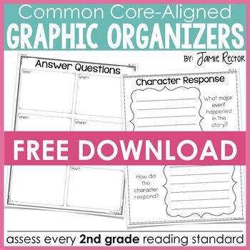 Common Core Standards Graphic Organizers FREE SAMPLE