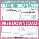 Common Core Standards Graphic Organizers FREE SAMPLE
