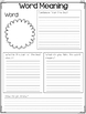 Common Core Standards Graphic Organizers for Reading 1st Grade