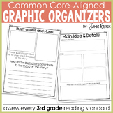 Common Core Standards Graphic Organizers for Reading 3rd Grade