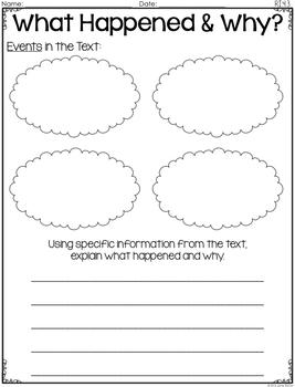 Common Core Standards Graphic Organizers for Reading: 4th Grade Edition