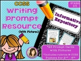 Common Core Standards Informative/Expository Writing Prompt Cards