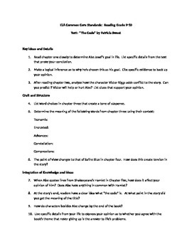 Common Core Standards Literature Assignment