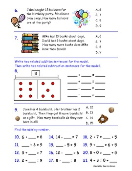 image about 2nd Grade Assessment Test Printable known as Popular Main Benchmarks Math Evaluation for Instant Quality