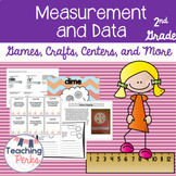 Measurement and Data for 2nd Grade {Games, Crafts, Centers