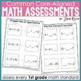 Common Core Standards Math Quick Assessments 1st Grade