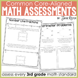 Common Core Standards Math Quick Assessments 3rd Grade