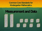 Common Core Standards; Measurment and data, Kindergarten