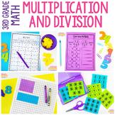 3rd Grade Multiplication & Division Unit | Print & Digital