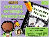 Common Core Standards Narrative Writing Prompt Cards