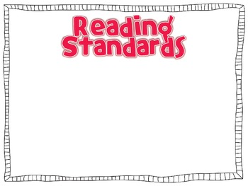 Common Core Standards Posters