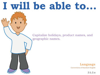 Common Core Standards Posters 2nd grade English