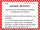 Common Core Standards Posters AND EQs-Third Grade MATH (ho