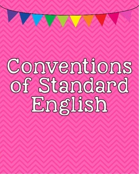 Common Core Standards Posters - Anchor Standards for Language