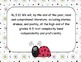 Common Core Standards Posters ELA Grade 5 Ladybug Theme