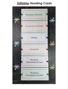 Common Core Standards I Can Statements for 3rd Grade - Full Page