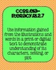 2nd grade Reading Literature Common Core Standards Posters