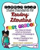 1st grade Reading Literature Common Core Standards Posters